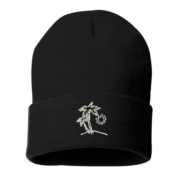 f1626cba187 BEACH SCENE Beanie Cuffed Cap Beach Hat I m On