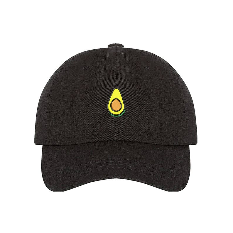 Avocado Dad Hat Baseball Cap Embroidered Green Avocado Dad Hat  4467fa355b7