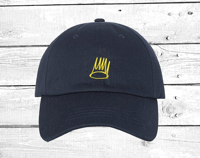 Born a Sinner Cap  Sinner Crown Baseball Cap, Music Lyrics  Born Sinner baseball hatst Sinner Crown Unisex Hat
