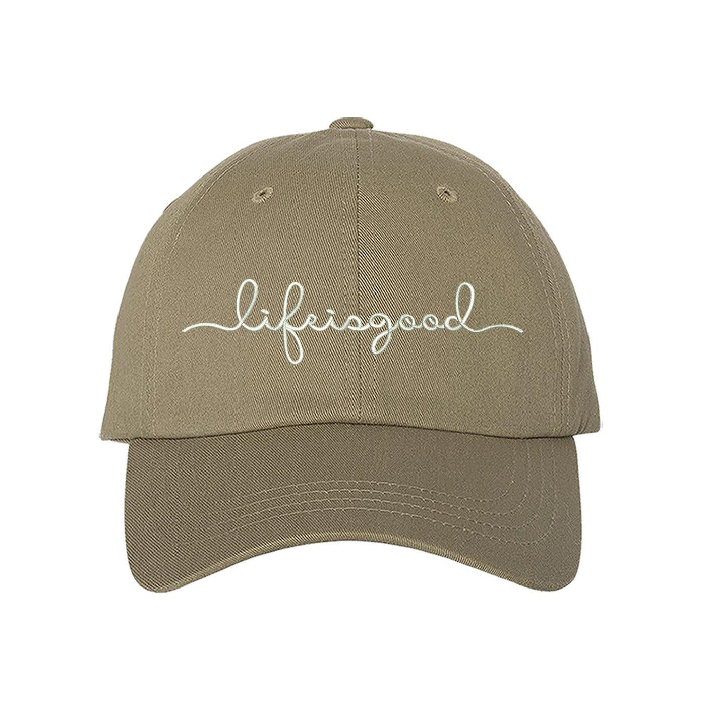 Life is good Dad Hat Friends Baseball Hat  87e848f30f8c
