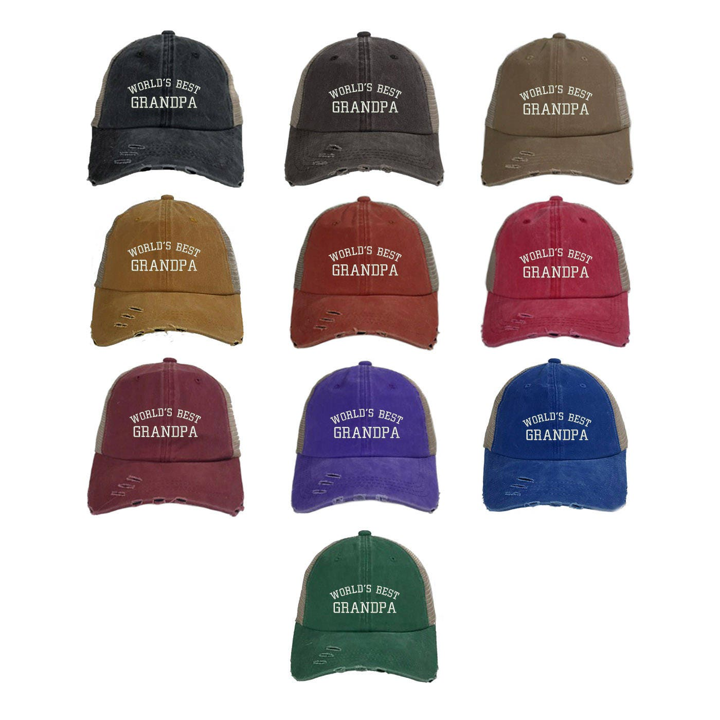 3863ddbce31 ... Grandfather Baseball Caps - Multiple Colors. gallery photo gallery  photo gallery photo ...