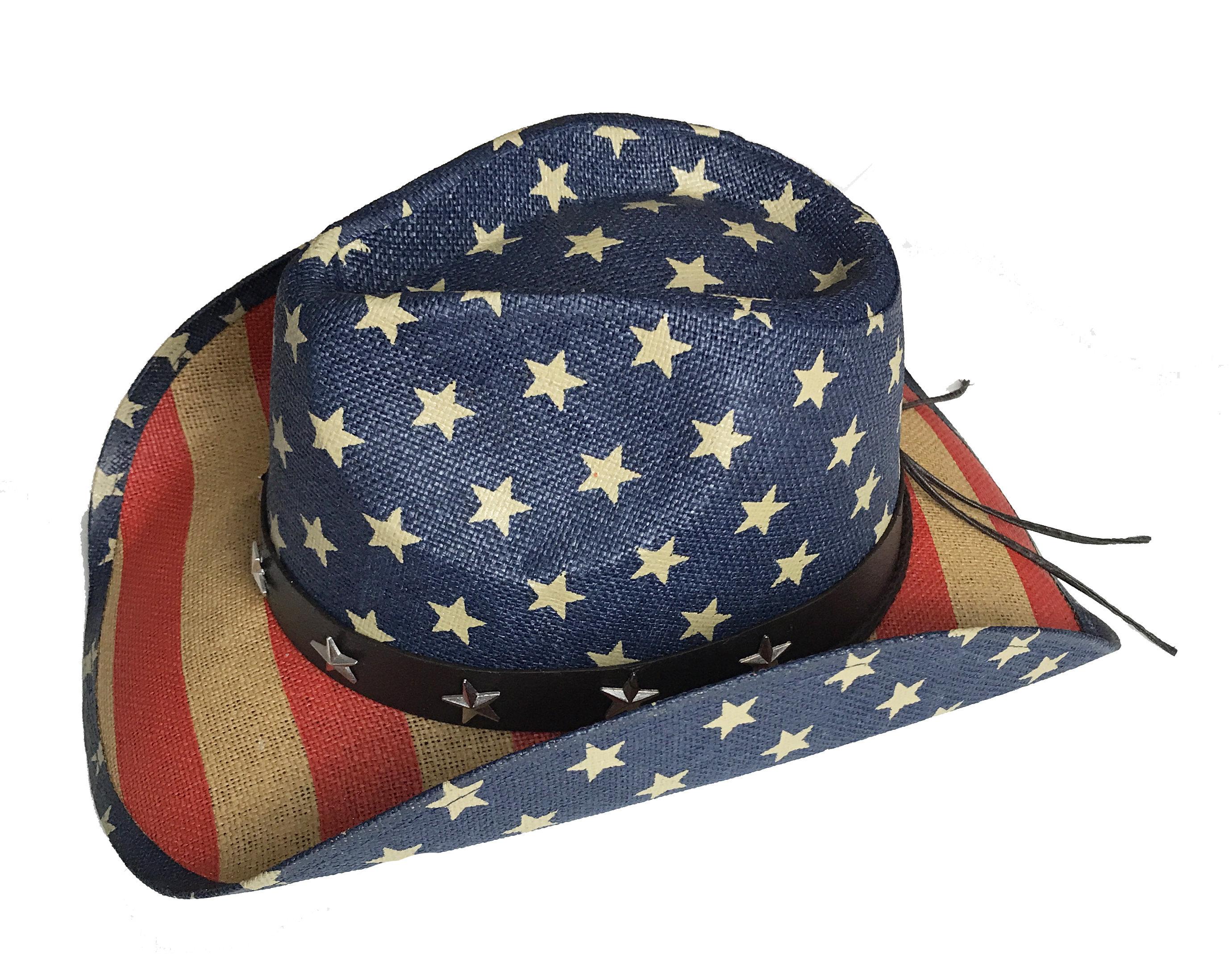 b3e05ab5b68e2 ... 4th of July Straw Hat
