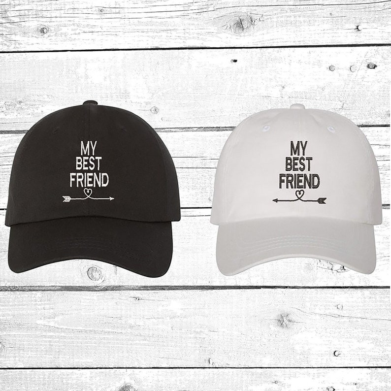 825b738b6bc7 My Best Friend Baseball Hat Couples Hat His and Hers Baseball