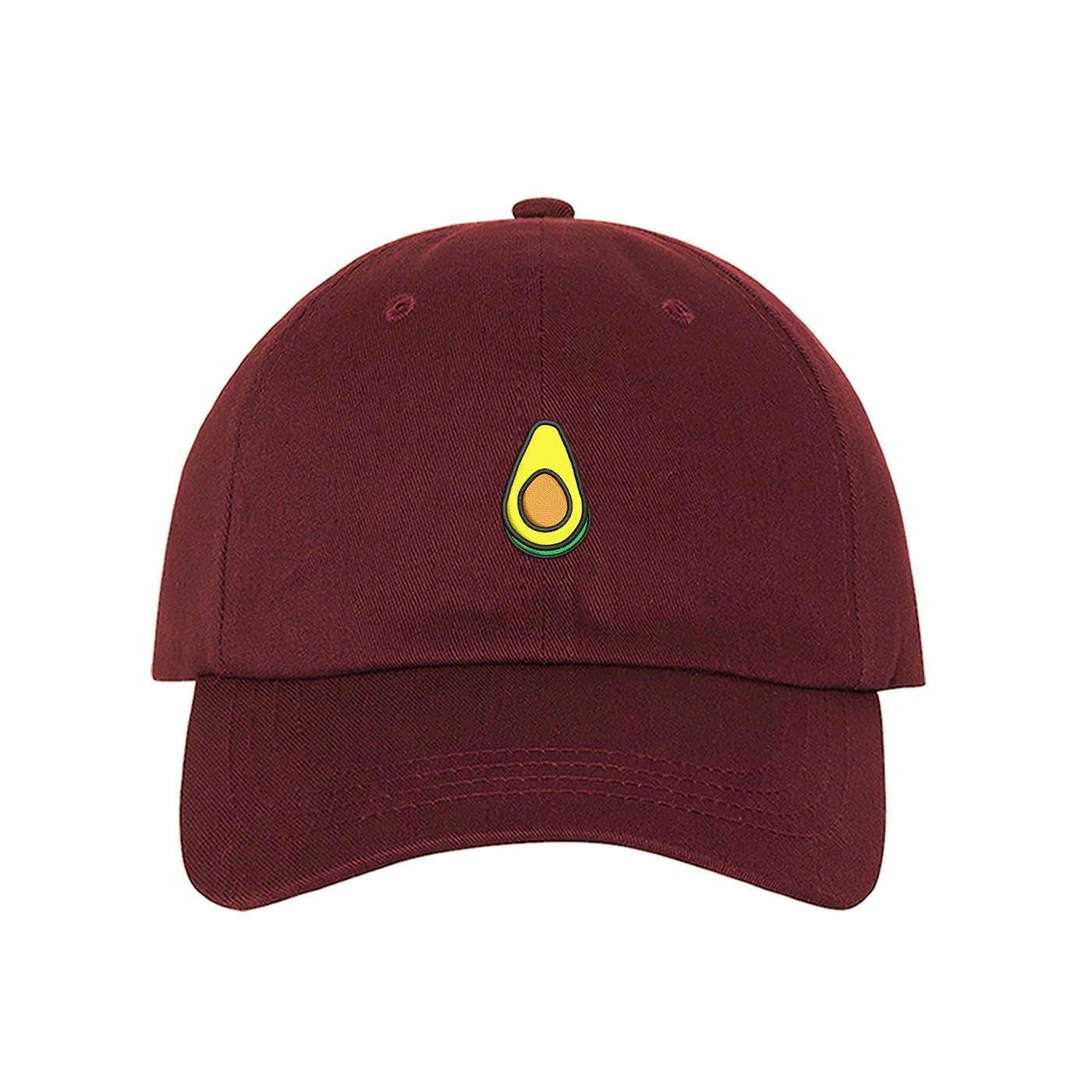 Avocado Dad Hat Baseball Cap Embroidered Green Avocado Dad Hat Vegan Hat  Food Lover Low Profile Dad Hats Avocado Gift Tumblr Black Dad Cap 29810885005