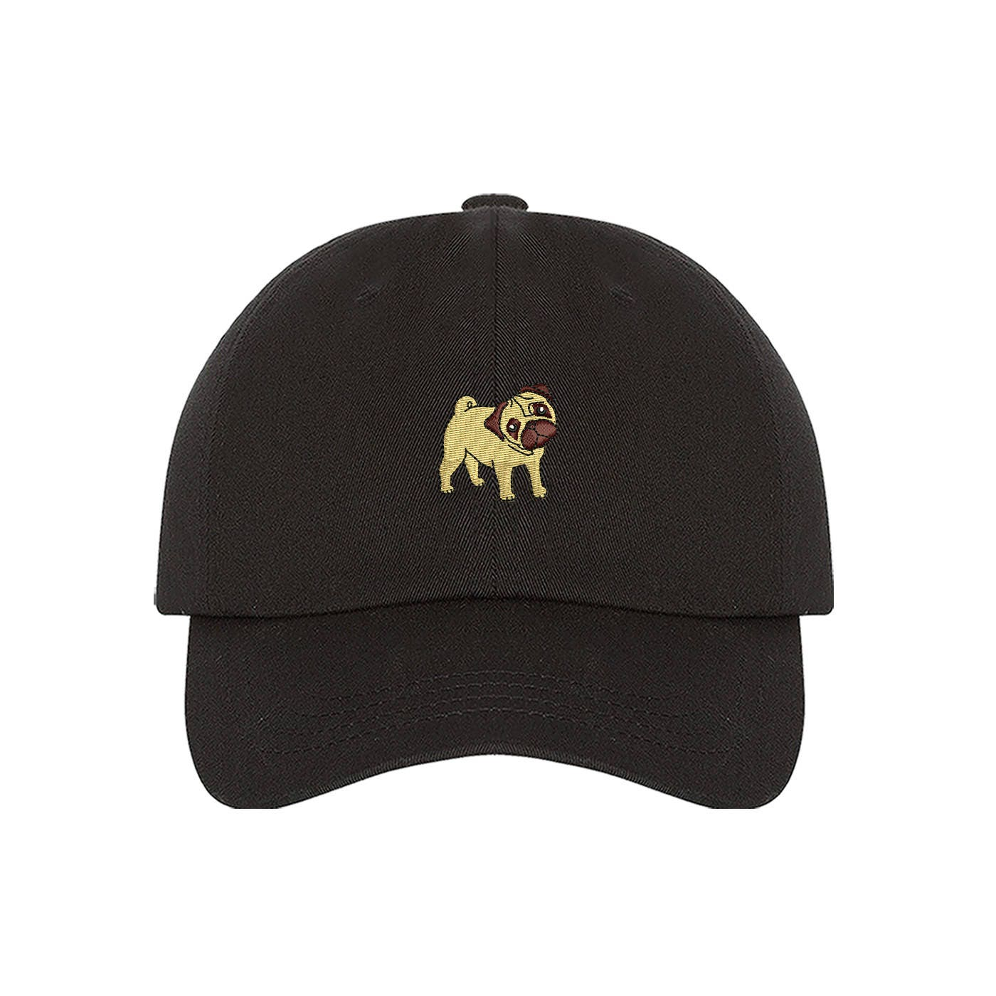410eaffe99d PUG Dad Hat Dog Lover Hat Embroidered Baseball Cap Pug Hat Pug Dog ...