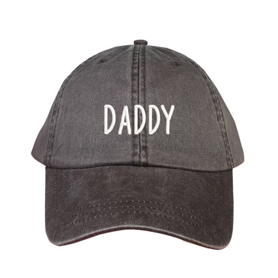 8f4867967f5 DADDY Washed Dad Hat Papa Father Papi Hat
