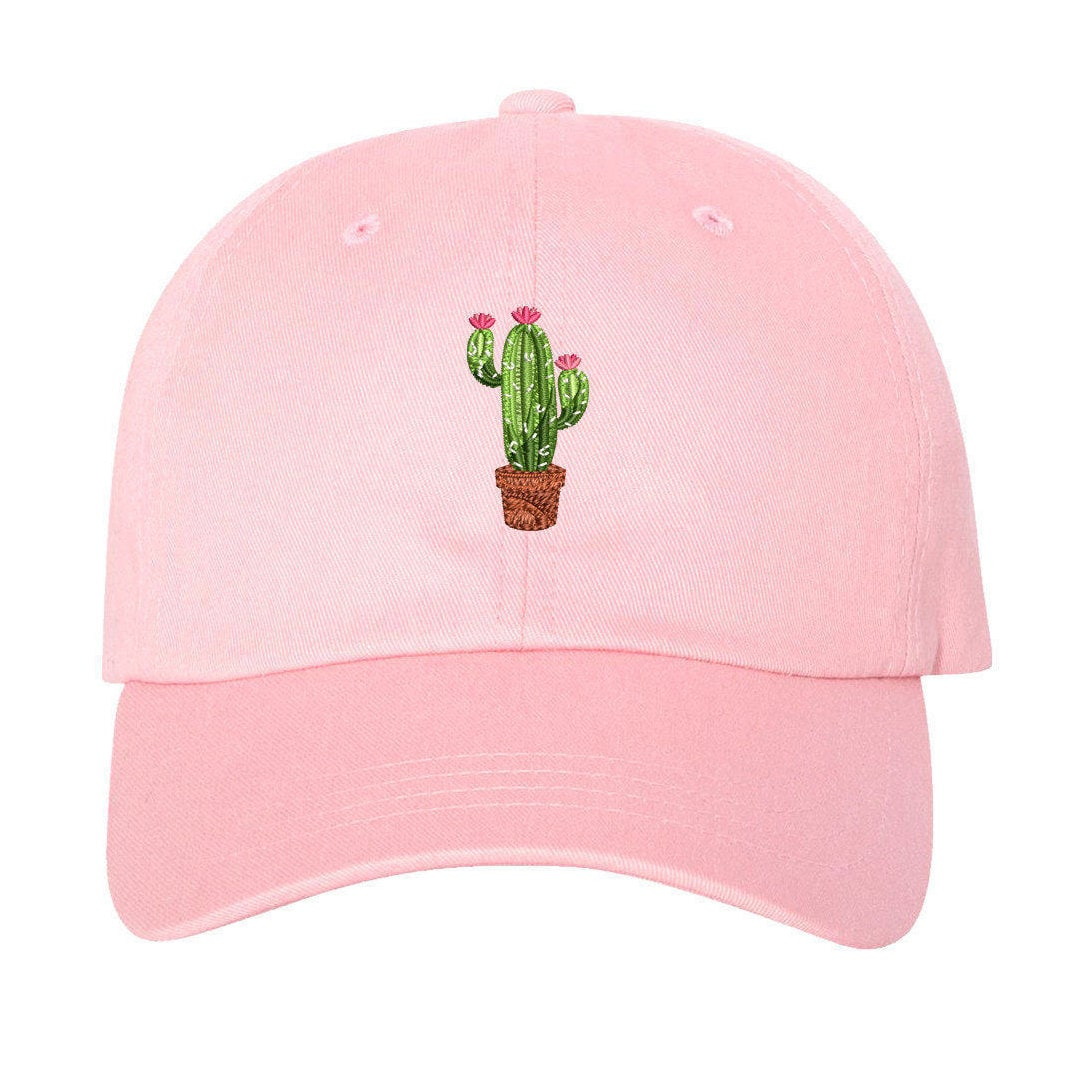 61c2bb86e6be9 CACTUS FLOWER Dad Hat Succulents Baseball Caps Plant Caps Cactus Pot Gift  Prickly Cactus Hat Cacti Tumblr Dad Hat