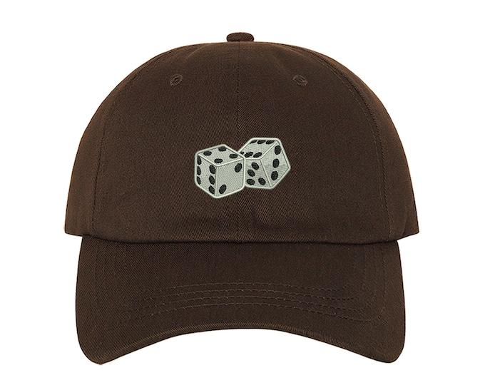 DICE Hats Dice Emoji Las Vegas Baseball Hats Poker Lover Hat Gambling Dice Caps Gambler Gift Casino Games Craps Roulette LassVegas Hats
