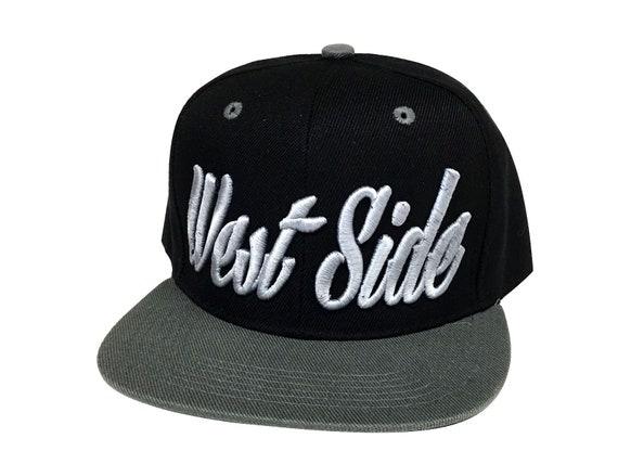 e86996c8 Snapback WEST SIDE 3D Hat Vintage Flat Bill Snapback West | Etsy