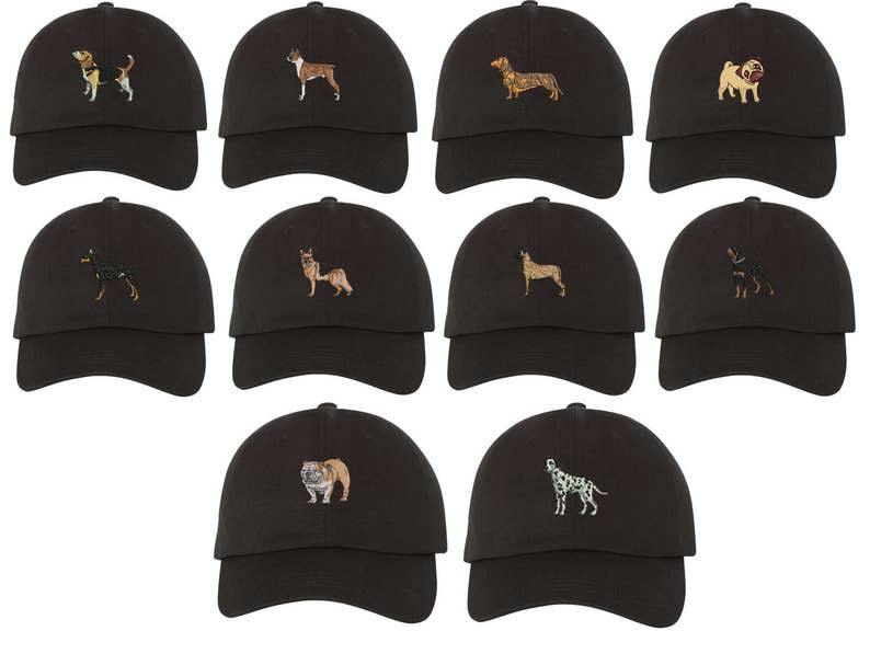 7e8418935 Dog Baseball Cap German Shepard Baseball Cap Pug Dad Hat Boxer | Etsy
