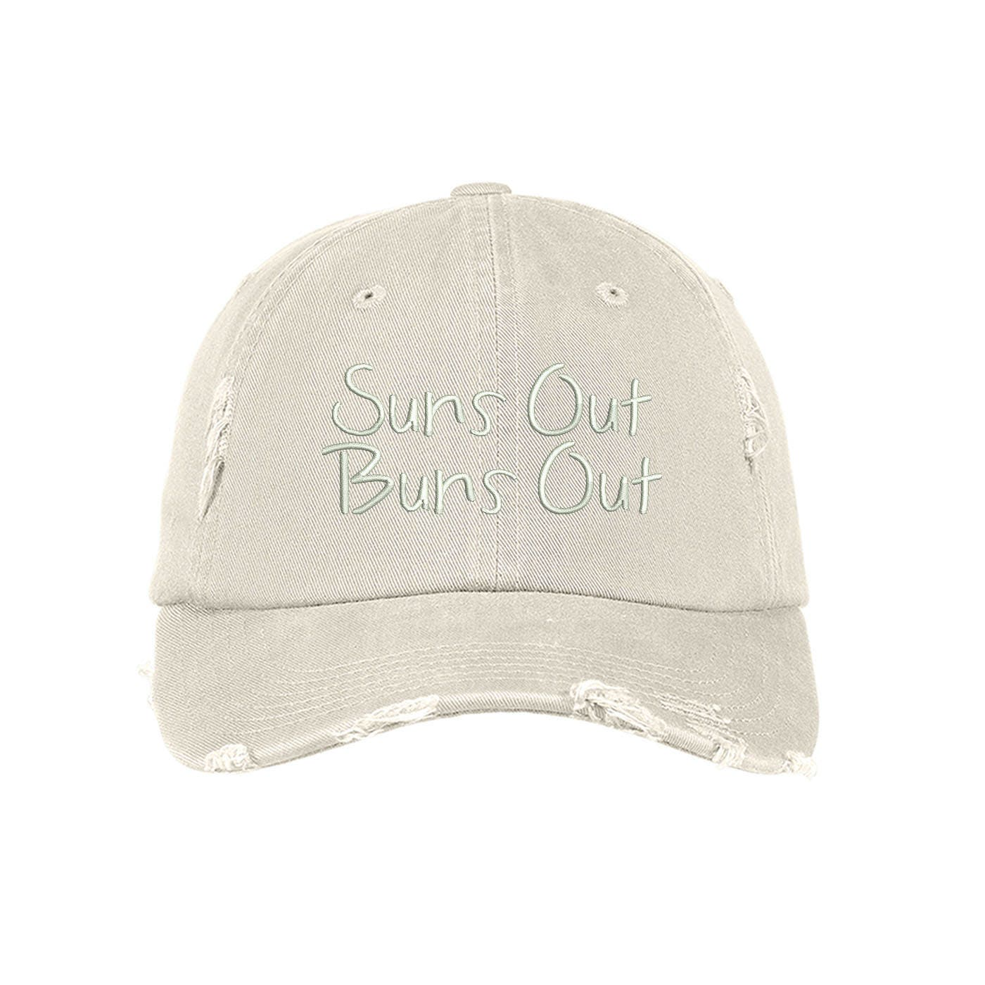 952cf57caf6 Suns OUT BUNS OUT Distressed Dad Hat