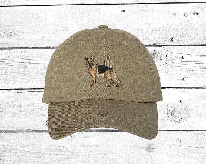 GERMAN SHEPHERD Baseball Hat Dog Dad Hat, Dog Baseball Cap, Dog Lover Hats, Gifts for Pet Lovers Dog Mom Baseball Hats for Doggie Mom