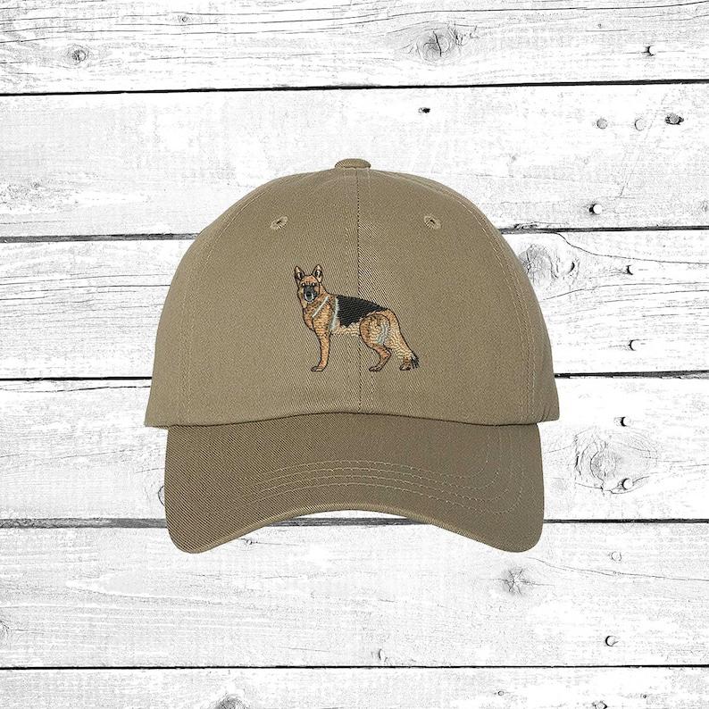 dfb4251fd83 GERMAN SHEPHERD Baseball Hat Dog Dad Hat Dog Baseball Cap