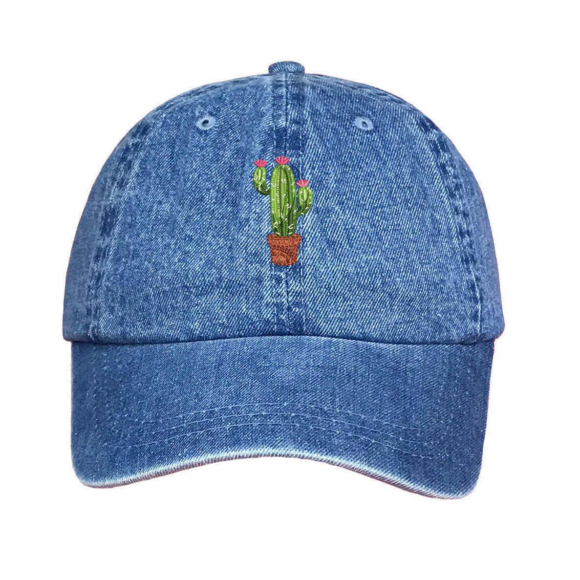 CACTUS FLOWER Dad Hat Succulents Baseball Caps Plant Caps Cactus Pot Gift  Prickly Cactus Hat Cacti Tumblr Dad Hat 6cdc912f126a