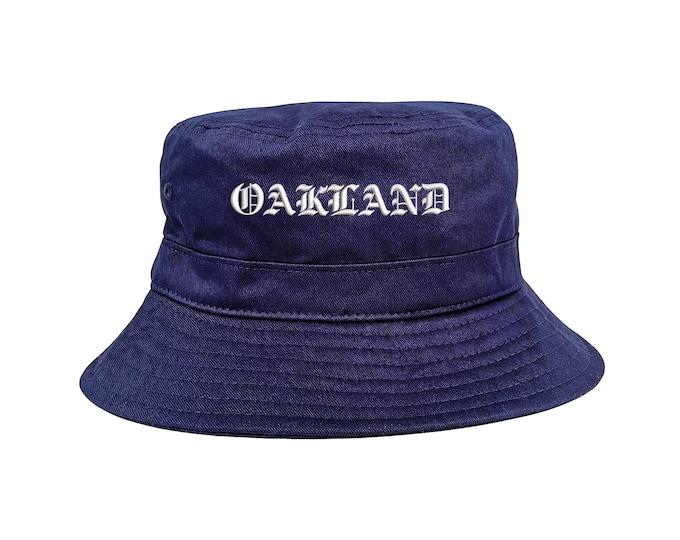 Oakland Hat, Bay Area Hats, Fisherman Hats, San Francisco Hats, Unisex Bucket Hats, NorCal Caps, SF Bucket Caps, West Coast Hats