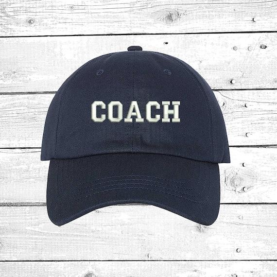 8c0212a221e2da COACH Hats Soccer Coach Caps Baseball Coach Football Coach | Etsy