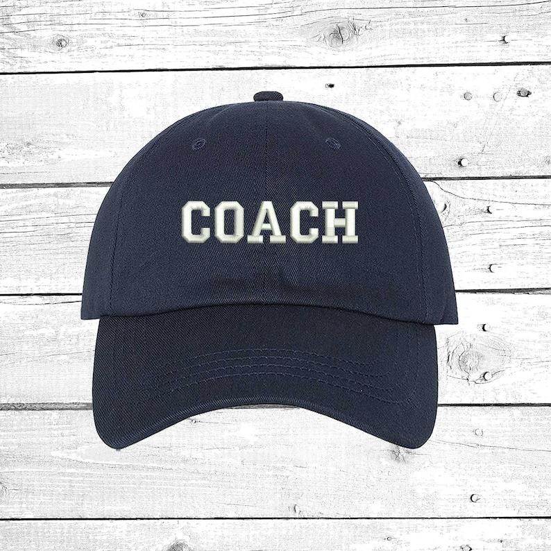 4a73647850e COACH Hats Soccer Coach Caps Baseball Coach Football Coach