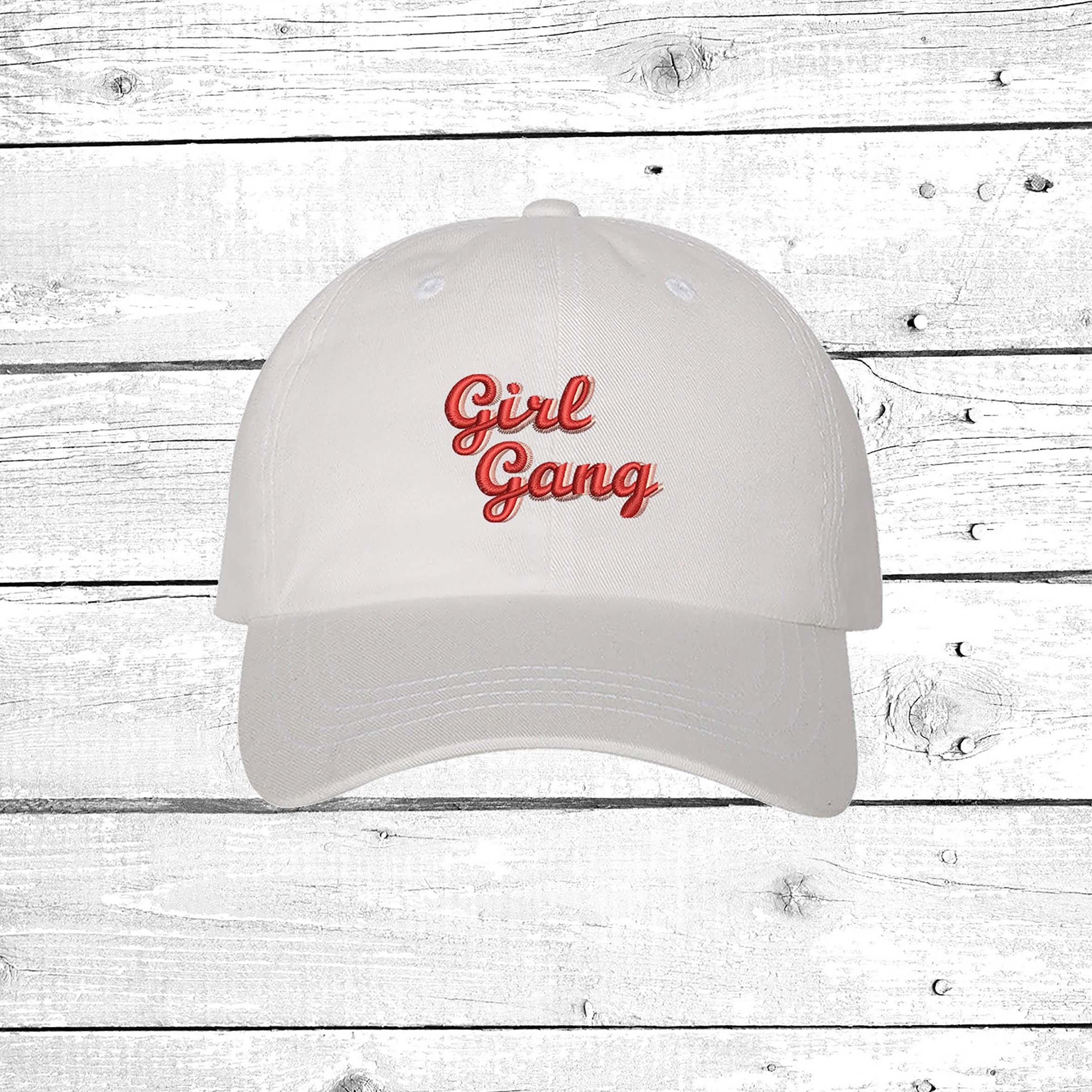 d4c85b4655b1d Girl Gang Baseball Hat Feminist Dad Hat Girl Power Embroidered Cap Girl  Boss Hat Feminist Hats Unisex Hats Feminist Gift. gallery photo ...
