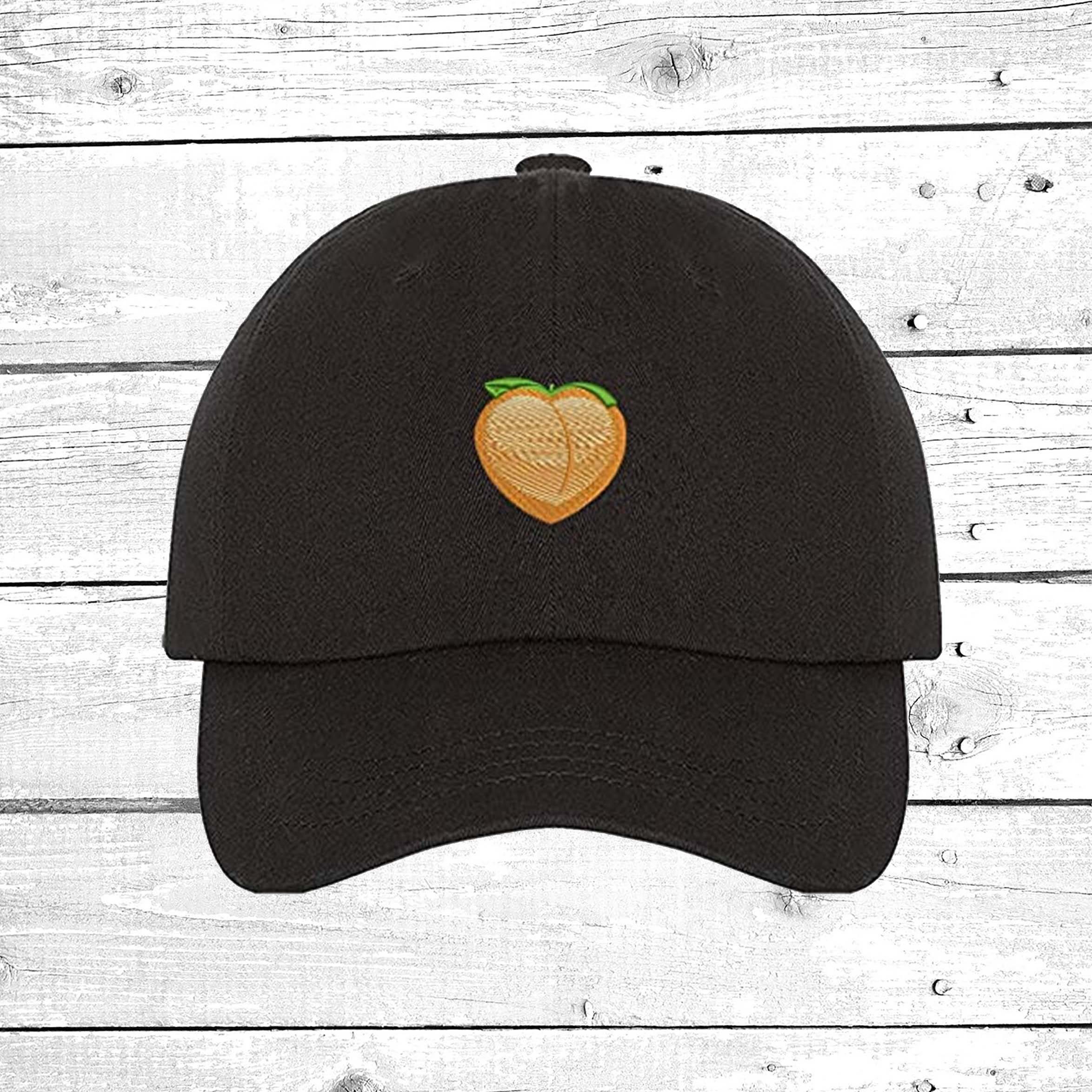 Hats Peach Cap Peach Emoji Baseball Cap Peach Fruit  119d5ae1e6a