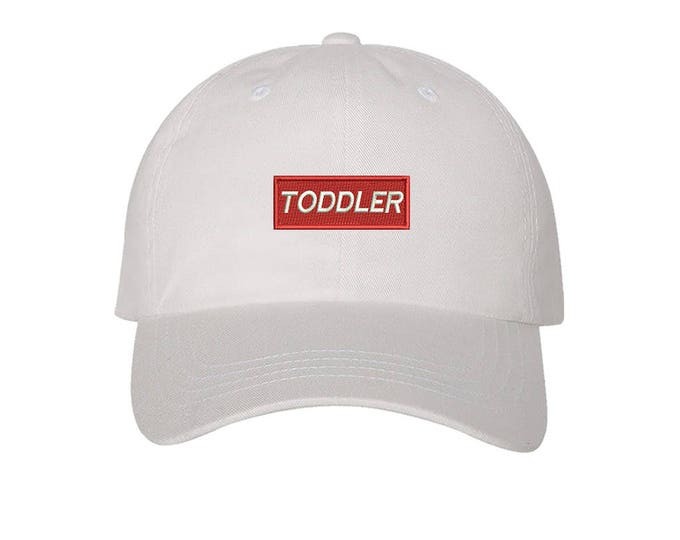 KIDS Hat, TODDLER Patch  Embroidered Baseball kids Hat, Child Cap Hats,  Kids Baseball Toddler Cap