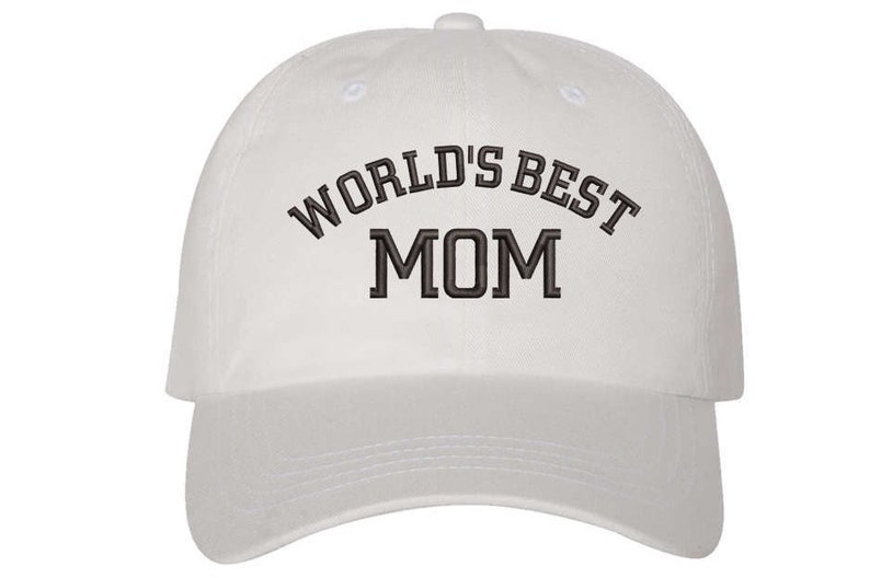 cbe122224a0 Gift for Mom WORLD S BEST MOM Dad Hat Present for mom hat