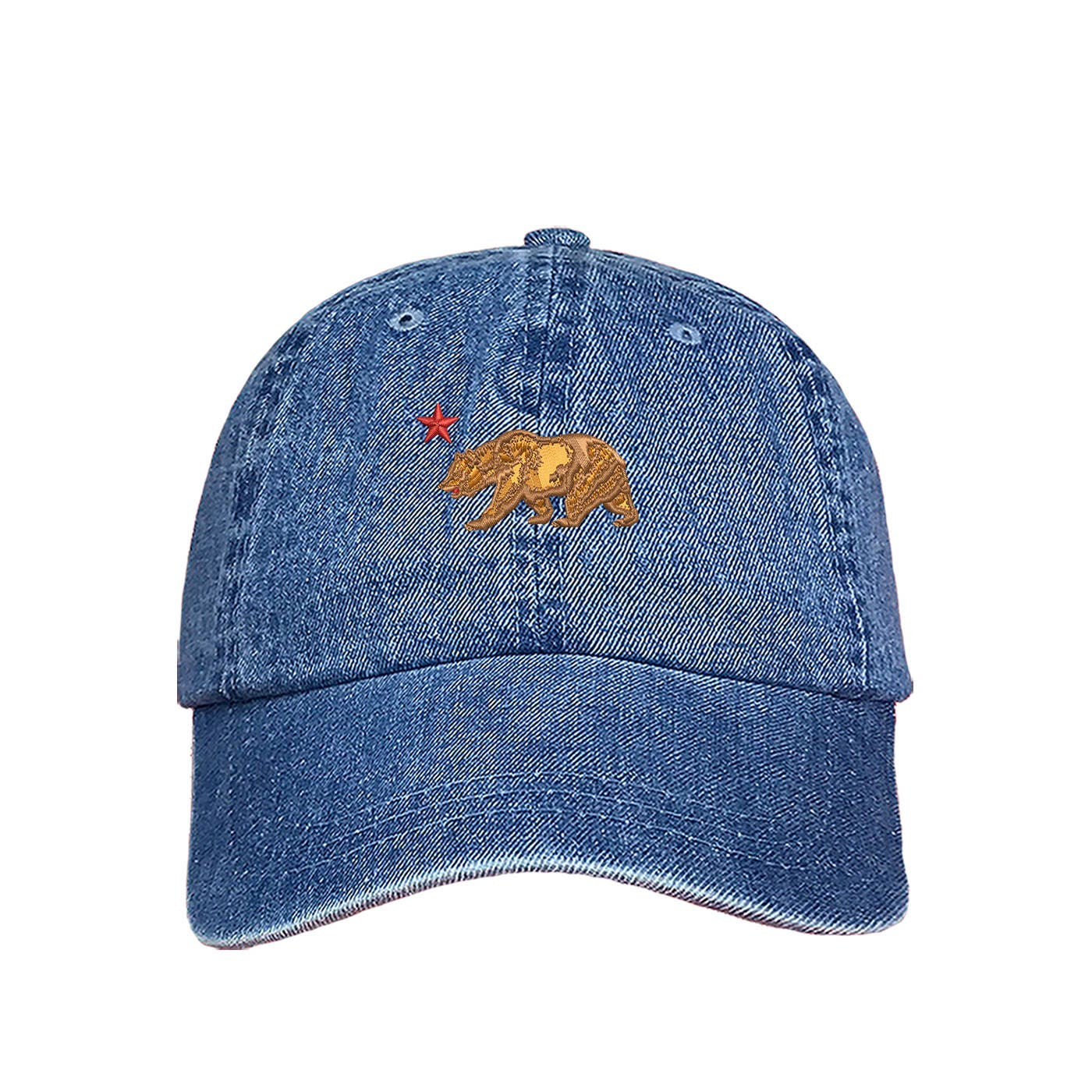 a193cf63 California State Bear Dad Hat  Bear Patch  Grizzly Bear California ...