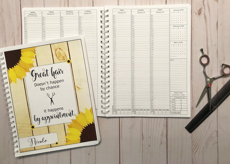 PreDated Appointment Book Available in 3 Different Sizes  image 0