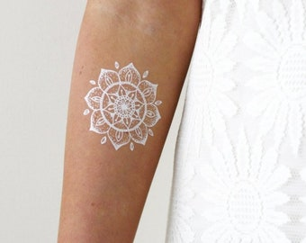 Boho Mandala Tattoo Etsy