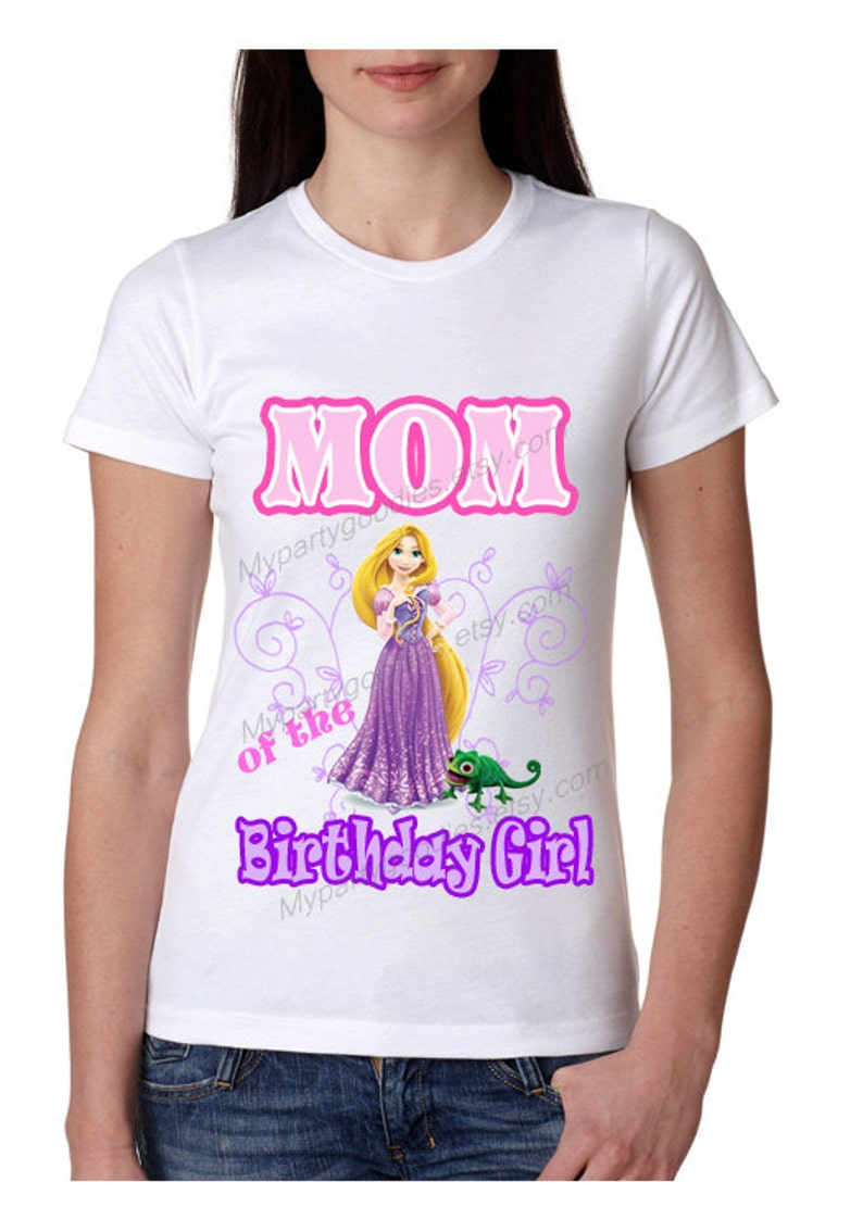 Mom Birthday Shirt Custom Rapunzel