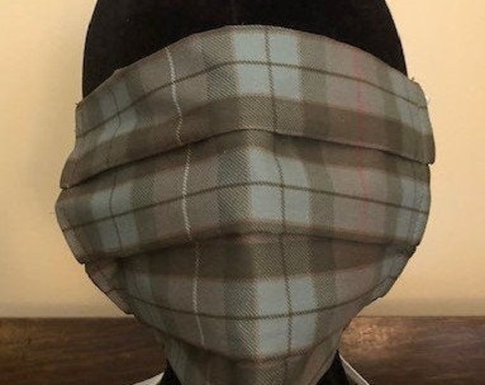 Limited Edition Traditional Fraser Hunting Tartan Face Mask