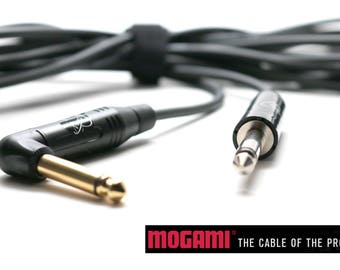 Mogami 20' ultra light instrument cable by Myers Pickups