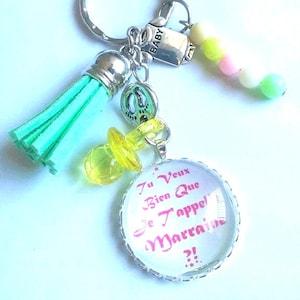 request godmother godmother godmother a godmother door cabochon key of 25 mm handmade original godmother sponsor sponsorship