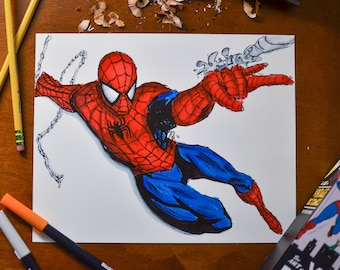 8x10 Spider-Man Print