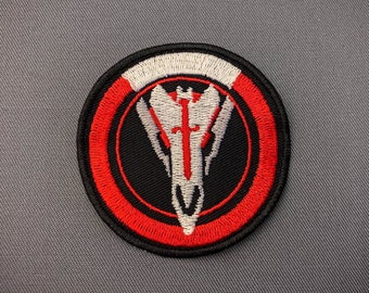 Blackwatch - Overwatch inspired patch // ornament, cosplay prop.