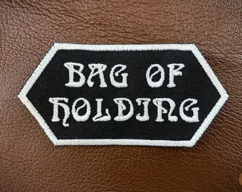 Bag of Holding patch // ornament, cosplay prop.