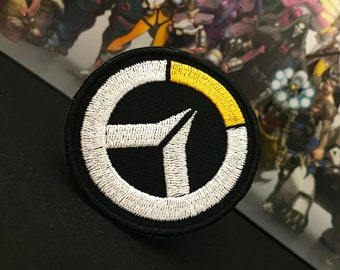 Overwatch inspired patch // ornament