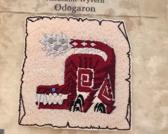 Odogaron inspired patches // ornament