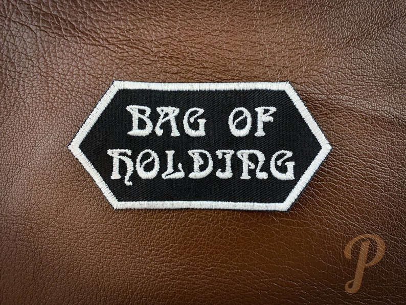 Bag of Holding patch // ornament cosplay prop. image 1