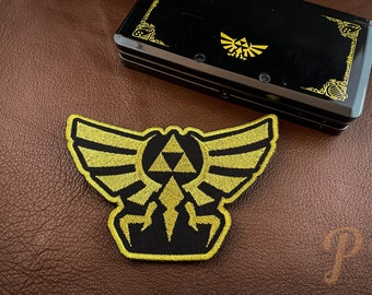 Royal Crest from Zelda inspired patch // ornament