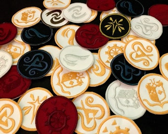 Monster Hunter World inspired emblem patch // ornament
