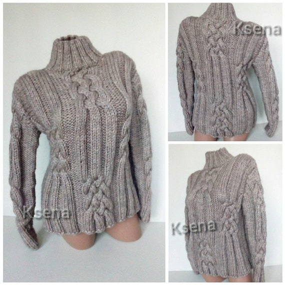 Women/'s Cavo Grosso Maglione Pullover Donna Maglione Top