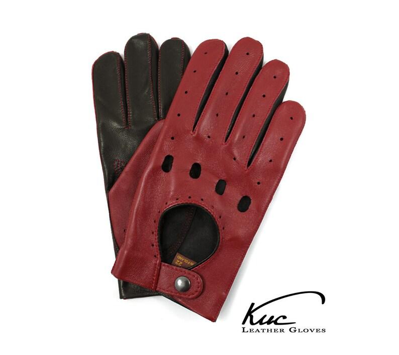 8339c161fc996 Herren Autofahren Handschuhe super weichen italienischen Lamm