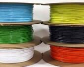 VInyl Cord - vinyl 0.2 inch 5mm, made in Canada, PBA-Free, flexible, durable. 1000 foot rolls