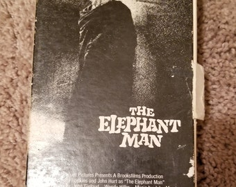 Vintage VHS David Lynch the elephant man