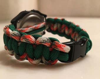 Paracord Watch Band Strap
