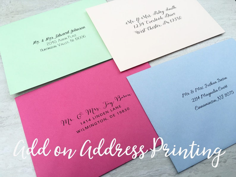 Red Pink Navy Blue Purple Mint Green Coral Black White 80# Premium Paper Source Pointed Flap 50 A7 Envelopes 5x7 Invitation Envelope
