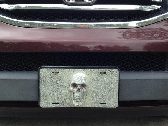 Funny Hunting License Plate Frame Novelty Car Tag Vanity Gift I Like Big Racks
