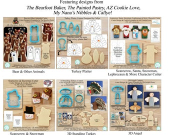 Shop Announcement - Collage Showing all NEW Whisked Away Cutters