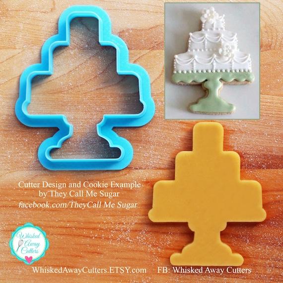 Susans Wedding Or Birthday Cake Stand Cookie Cutter