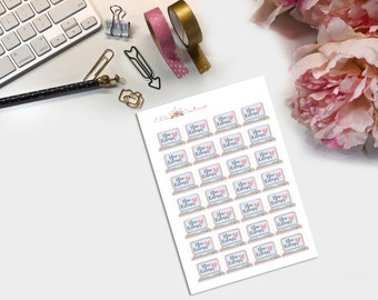 New Releases Shop Owner Planner Stickers
